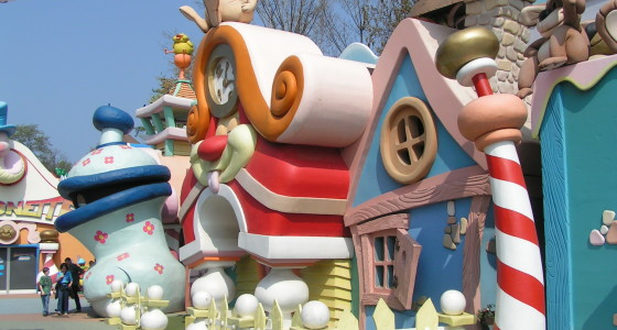 amusement parks in mantua italy - rareitaly